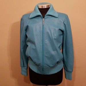 Vintage Emanuell's Baby Soft Leather Jacket, Sz M